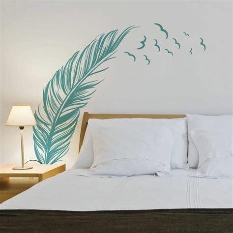 sticker mural chambre stickers chambre adulte lesquels choisir archzine fr