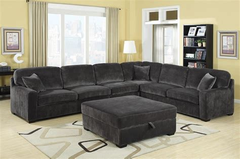 grey sectional sleeper sofa loomis k29000 sectional