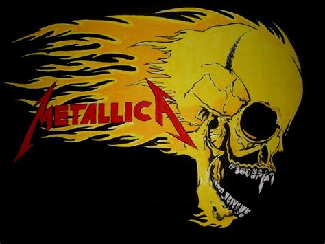 Metallica Skull metallica skull logo www pixshark images galleries