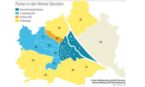 Ohne Bewerbung Wien Wien Das Parkpickerl Und Der Dominoeffekt 171 Diepresse