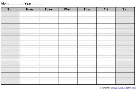 blank calendar template work week printable work week calendar 187 calendar template 2018