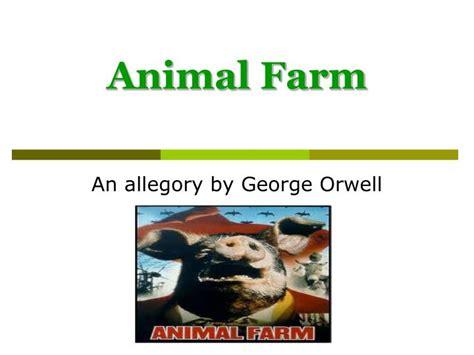 animal farm powerpoint intro ppt animal farm powerpoint presentation id 3947892