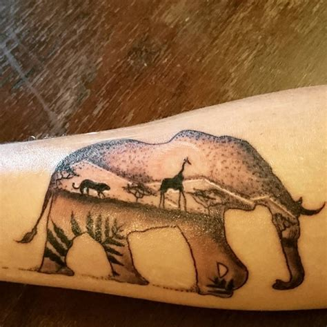 african elephant tattoos cool ideas for and