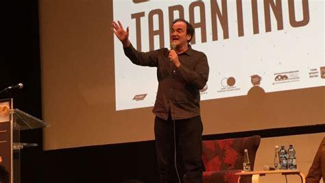 quentin tarantino film festival only two more films for me tarantino tells jerusalem