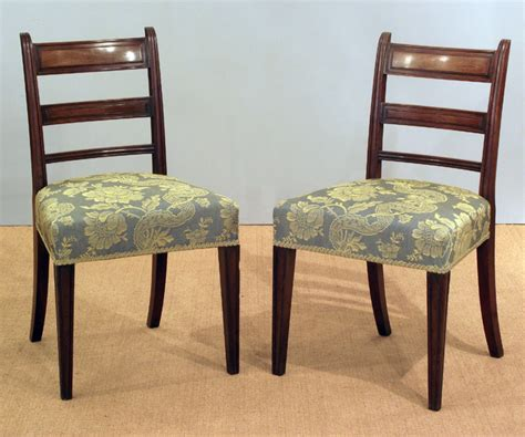 Antique Georgian Dining Chairs by Pair Of Georgian Mahogany Dining Chairs Antique Dining