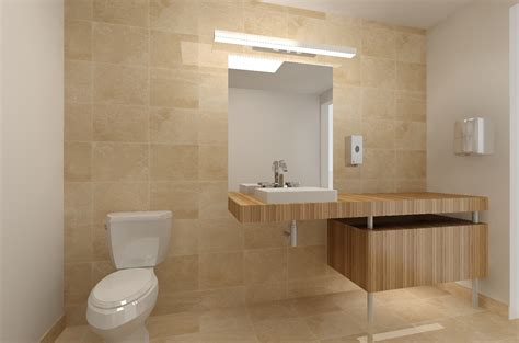 office bathroom portfolio labra design build