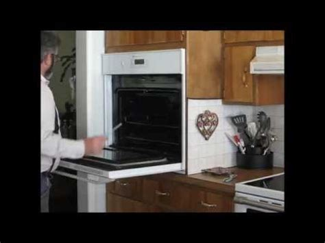 oven removal part  removing  oven youtube