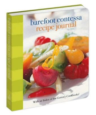 barefoot contessa recipe index barefoot contessa recipe journal with an index of ina