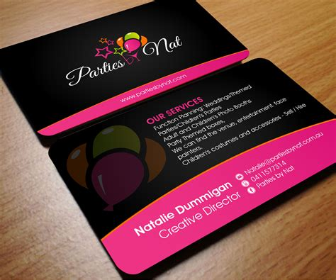 event management business card template event planner business card template www pixshark