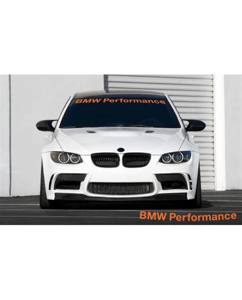 Bmw Performance Aufkleber Frontscheibe by Frontscheibenaufkleber