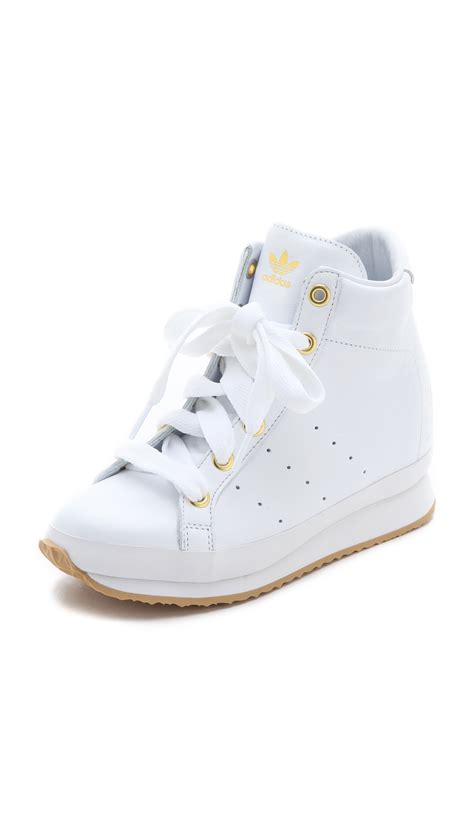 white wedge sneakers originals x opening ceremony honey wedge sneakers in white