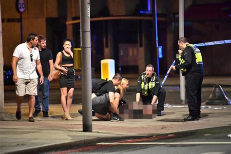 borough market stabbing london bridge attack killers filmed striding calmly