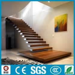 treppen innen neuen stil gerade floatings treppen designs innen holz