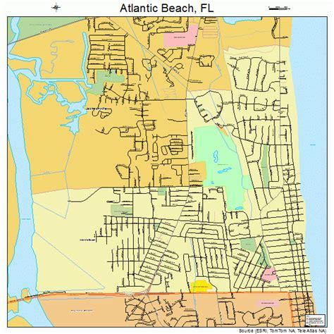 map of florida atlantic coast beaches atlantic florida map 1202400