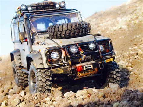 Rc Car Adventure Land Rover Defender D90 Axial Scx10 Rc4wd land rover defender d90 based on a axial scx10 chassis