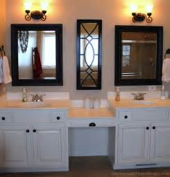 bathroom makeup vanity ideas master bathroom with double vanity and makeup counter i