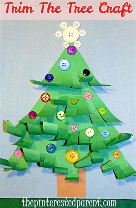 christmas tree crafts for preschool trim the tree craft montessori inspired activities and ideas crafts