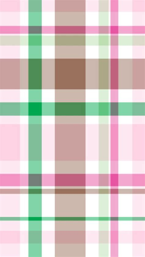 pink plaid pattern iphone wallpapers iphone 5 s 4 s 3g iphone 5 wallpaper pink and green preppy plaid pattern