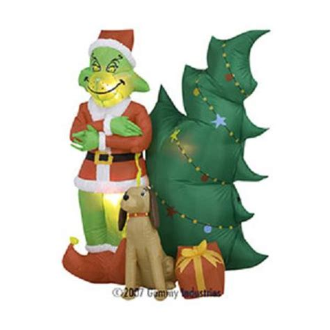 grinch inflatable shop inflatables shop gemmy airblown inflatables shop yard airblown inflatables
