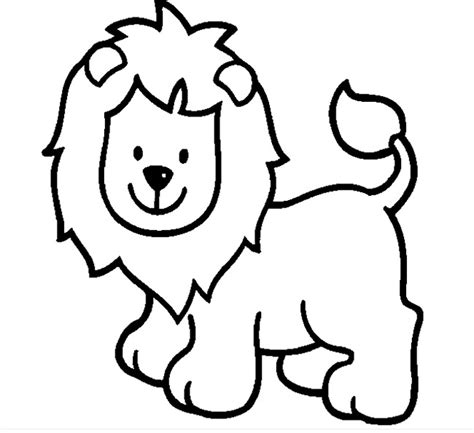 cute lion coloring page lion template animal templates free premium templates