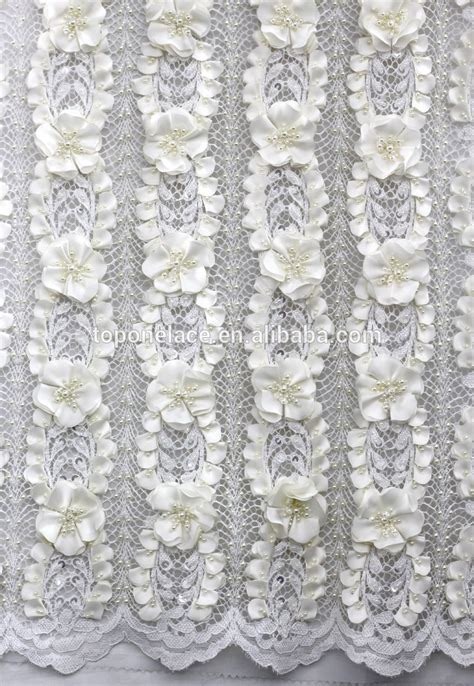 Brocade Lace 2016 china wholesale beaded tulle fabric brocade lace