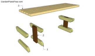Wooden Park Bench Plans Free by Woodwork Free Wood Park Bench Plans Pdf Plans
