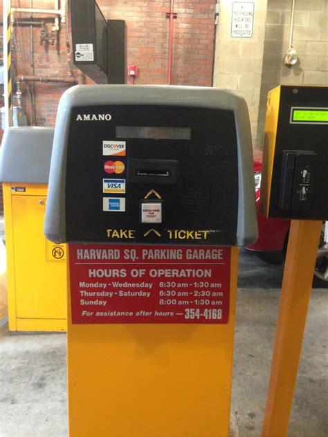 Harvard Square Parking Garage by Harvard Square Parking Garage Parking In Cambridge Parkme