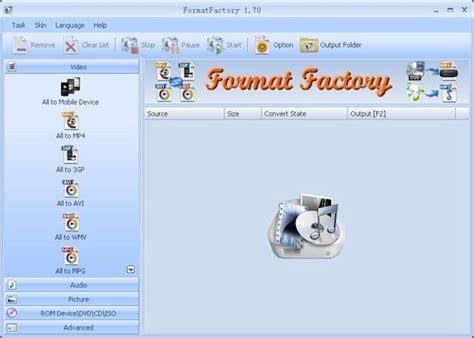 format factory converter quais formatos os melhores conversores de v 237 deo gratuitos para todos os