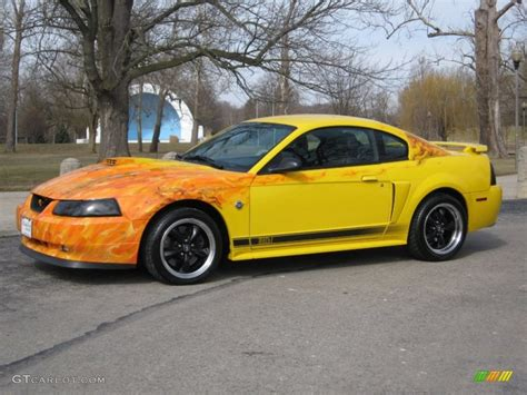 2004 Ford mustang screaming yellow
