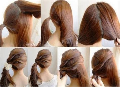 hairstyles easy and quick and cute hairstyles ideas trends best ideas cute and simple