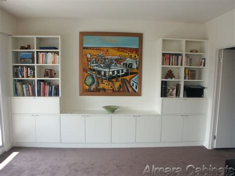 built in bookshelves melbourne custom furniture in built wardrobes study office