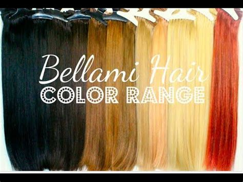 How To Choose Your Color Of Hair Extensions Lox Hair Extensions How To Your Color Of Clip In Extensions Bellami Hair