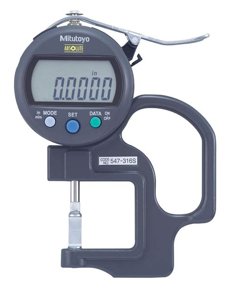 Thickness Mitutoyo Thickness Gages Series 547 7 Groove Thickness Measurement