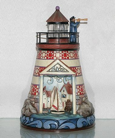 lighthouse figurine  jim shore  zulily today   home