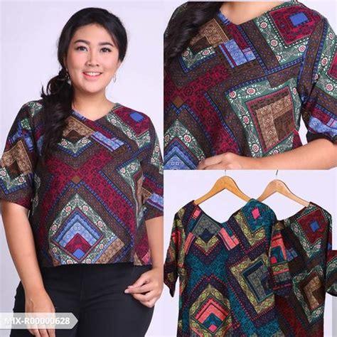 Baju Atasan Wanita Motif Etnik Uk Jumbo Stock Terbatas 7 tips menyiasati casual style agar terlihat langsing
