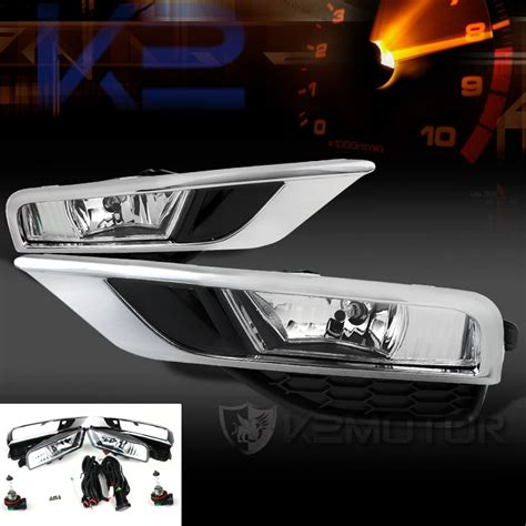 honda crv fog lights 2015 2016 honda cr v oem style clear fog lights kit