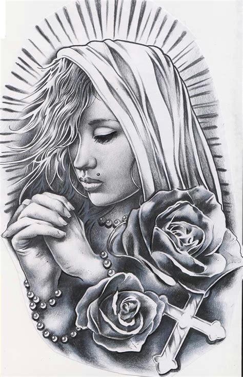 latino tattoo art another bad ass pattern on our t shirts and tank tops at