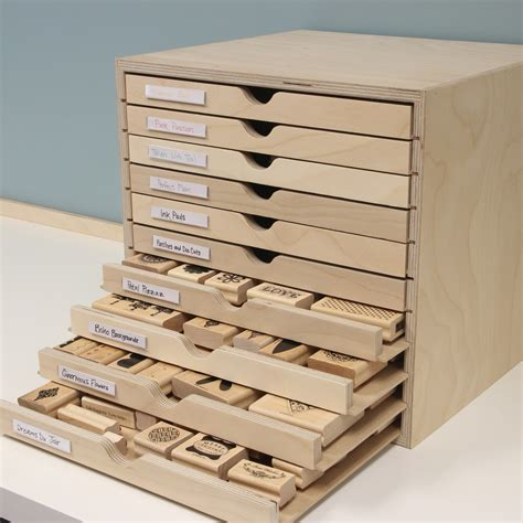 Papercraft Storage - drawer cabinet st n storage