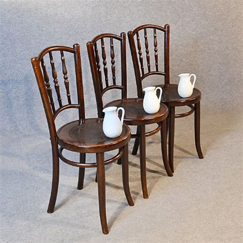 Deco Kitchen Chairs by Deco Bentwood Set Of 3 Vintage Kitchen Dining Cafe