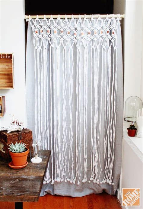 home depot room divider curtain how to macrame a room divider the home depot to be