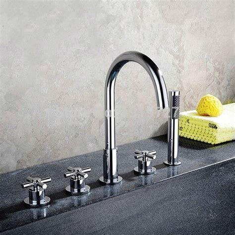 Held Shower For Bathtub by Bathroom Bathtub Mixer With Pull Out Held Shower