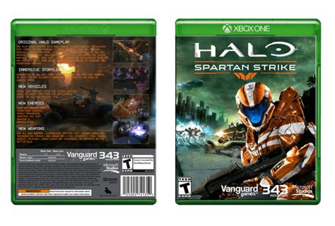 printable xbox one game covers halo spartan strike xbox one box art cover by darthmarticus