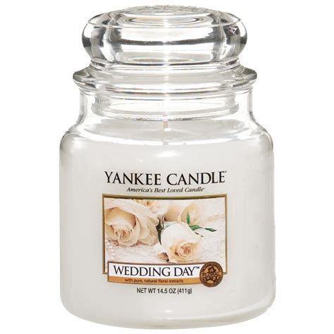 Wedding Anniversary Yankee Candle by Yankee Candle Wedding Day Medium Jar Candle Cus Gifts