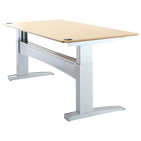 Electric Sit Stand Desk Shop Conset 501 11 Laminate Electric Sit Stand Desk