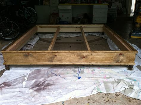 ana white king size platform bed diy projects