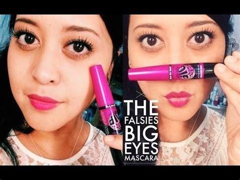Maybelline Mascara Big Eye maybelline falsies big mascara impression