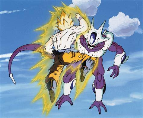 imagenes de goku vs cooler stills from dragon ball z the return of cooler click for