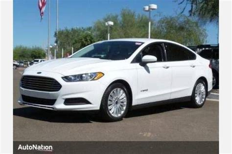 2015 Ford Fusion Hybrid S by Used 2015 Ford Fusion Hybrid Sedan Pricing For Sale