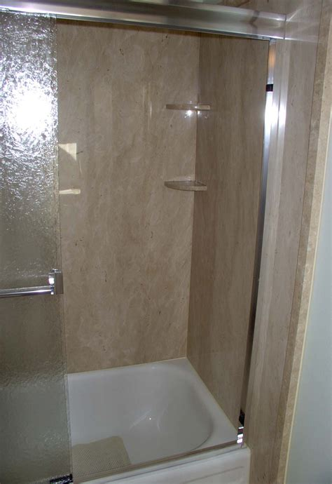 Shower Surround Trim by Thin Panels Shower Surrounds Interior Walls