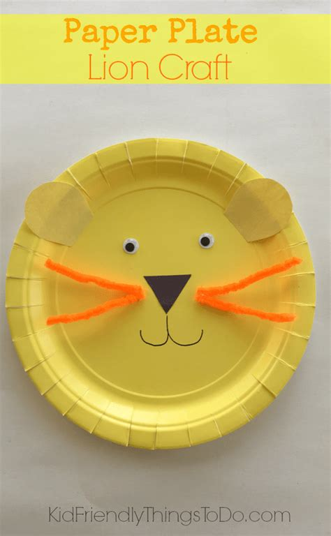 Things To Make With Paper Plates - easy to make a paper plate craft for